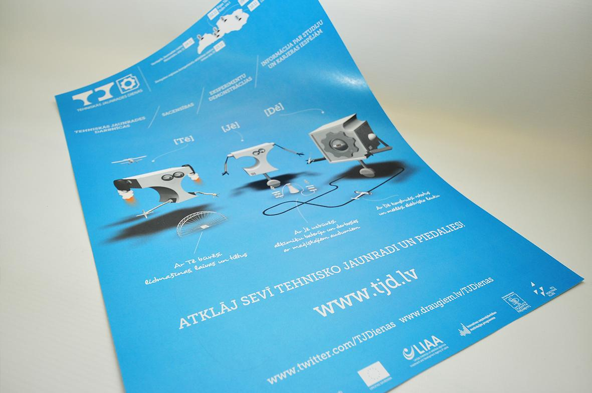 Poster production, price – Digital Mouse Ltd Latvia