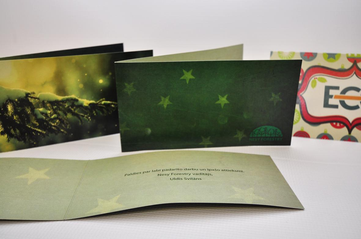 Merry Christmas cards printing - Digital Mouse Ltd Latvia