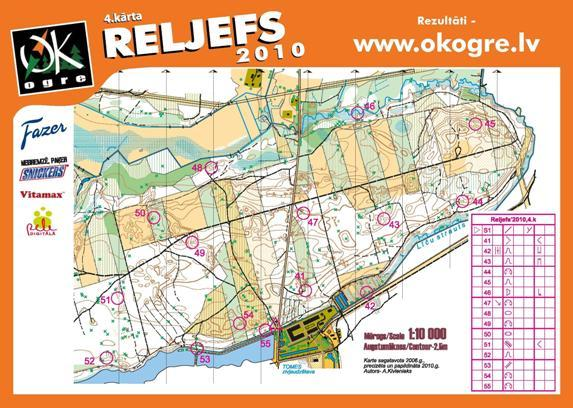 Digitally printed high quality Topographic maps for orienteering